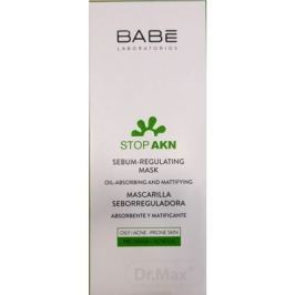 BABÉ AKNÉ Regulujúca pleťová maska (Sebum-regulating mask) 1x50 ml