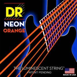 DR Strings NOE7-10 Orange