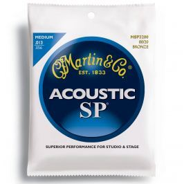 Martin MSP3200 SP 80/20 Bronze Strings, Medium