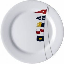 Marine Business REGATA Melamine non-slip dinner plate set