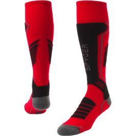 Spyder Velocity Mens Sock Red/Black/Polar L