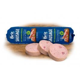 BRIT dog sausage CHICKEN / VENISON   - 800g